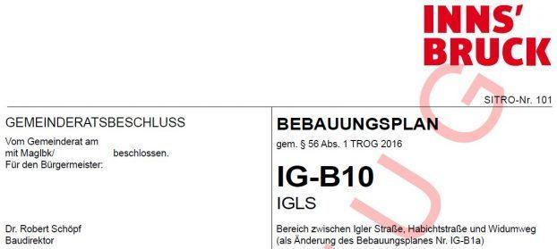 IG-B10 (Entwurf)