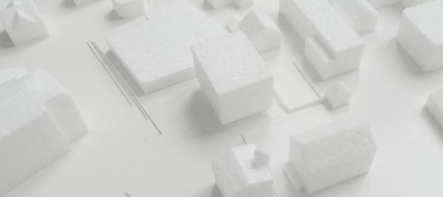 Widumplatz - Modell Siegerprojekt